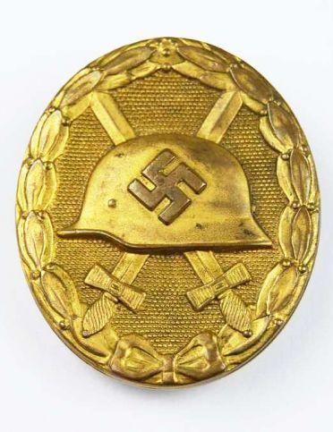 Distintivo de Herido Categoría Oro